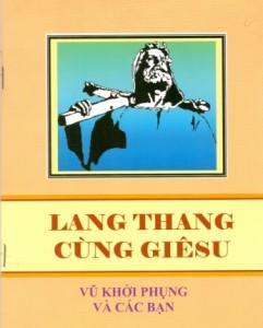 Bia sach hat LANG THANG CUNG GIESU - Cha Phung